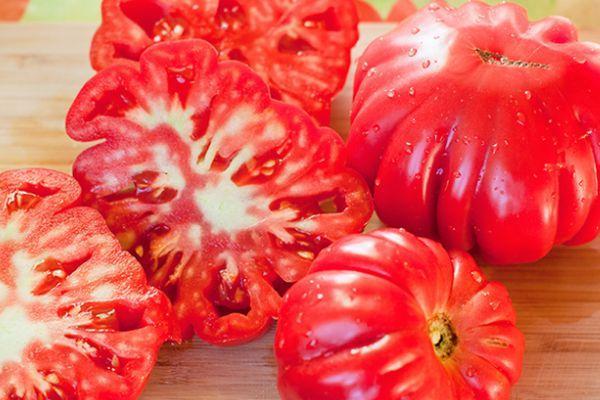 Плоды помидоров Гармошка