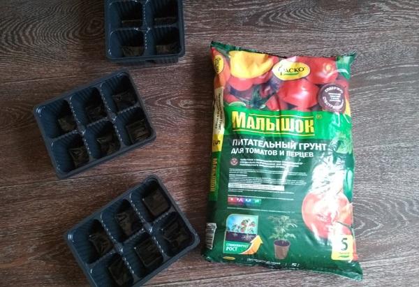 Подготовка грунта и тары к посеву томатов